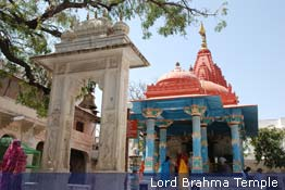 Lord Brahma temple at Pushkar, Ajmer